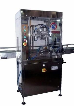 Friction capping machine