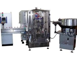 Filling and capping Minibloc machine